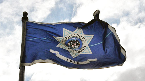 Charles County Sheriff's Office Flag