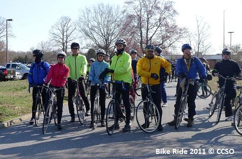 CCSO Bike Ride 2011