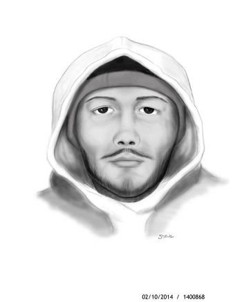 Robbery 01/30/14 Suspect Sketch