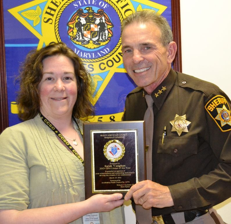 Sheriff Coffey and Sarah Vaughan