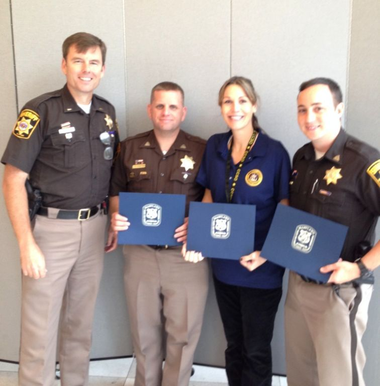 Officers Certified as DARE Instructors