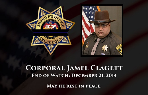 Cpl. Clagett - End of Watch