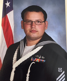 Homicide victim Robert Mange, who was shot and killed on May 20 outside McDonald's on Crain Highway. The photo was provided to us by a relative and they asked that we release it on the family's behalf. Robert Mange was active duty Navy from 2010-2014.  He was currently in the reserves.