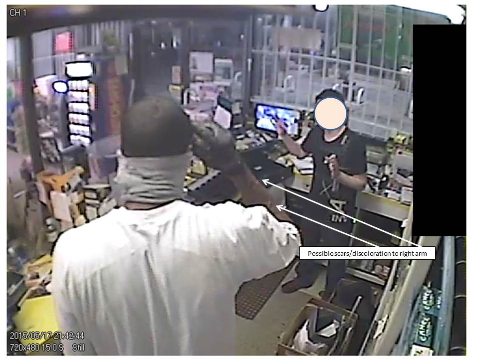 Robbery at Quik Shop May 17, 2015