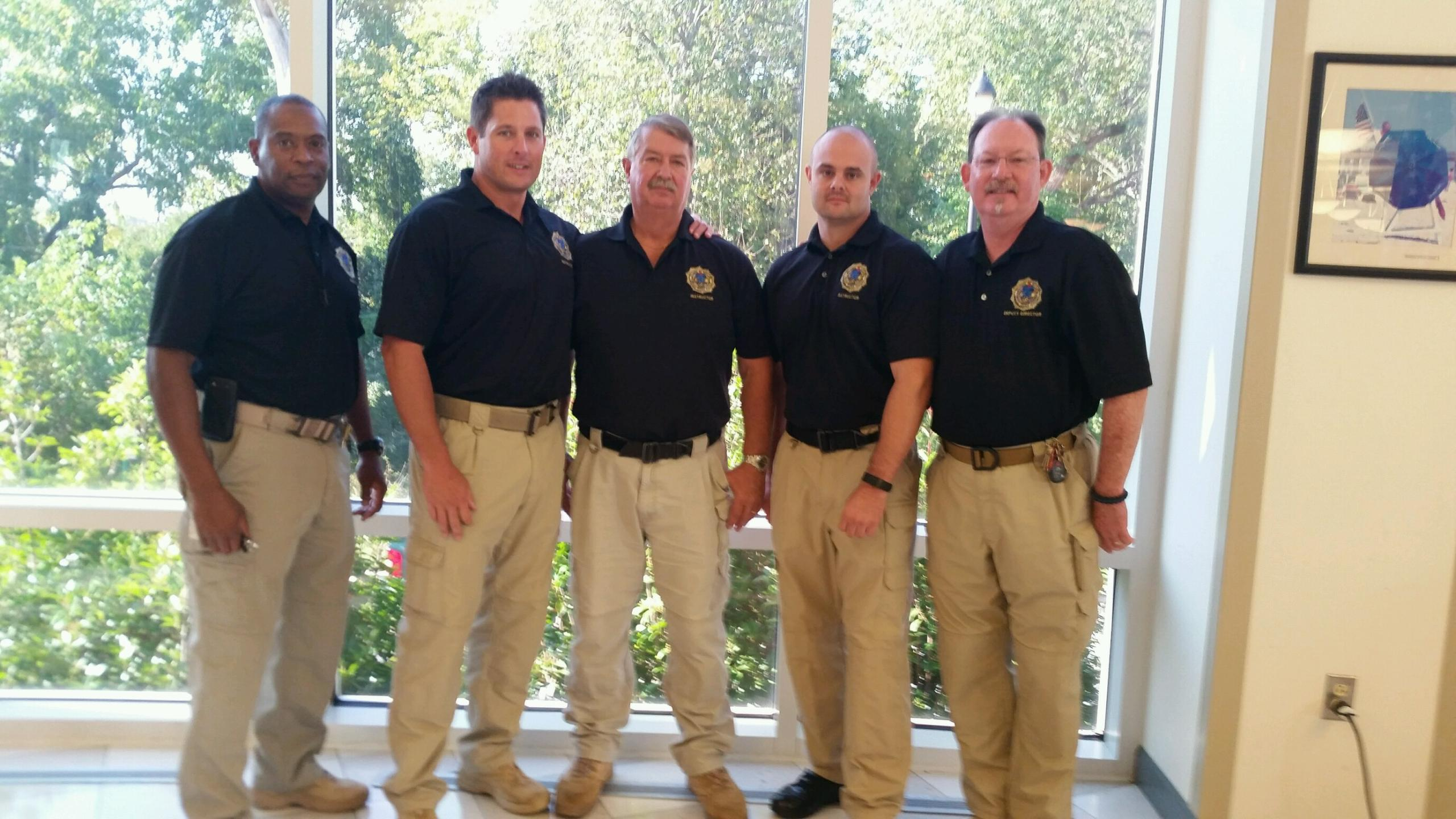 SMCJA Director Keith Hicks with Instructors Jeremy Hebb, Bill Siko, John Hotchkiss and Joseph Young