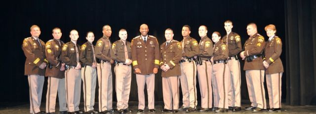 CCDC Graduates with Sheriff Berry