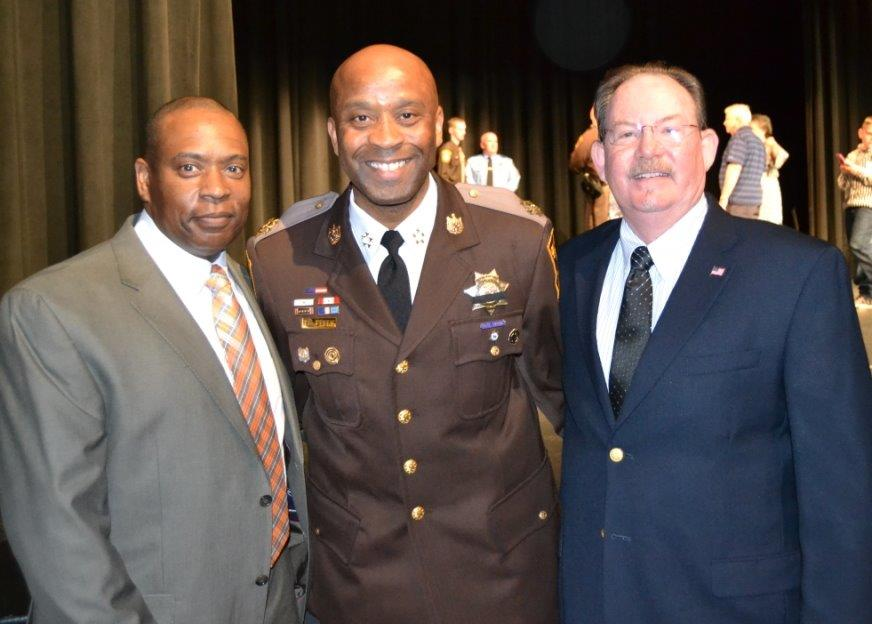 Keith Hicks, Sheriff Berry, and Joseph Young