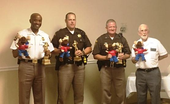 Sheriff Berry, Cpl. Gottschall, Officer Hooper and Mr. Dean