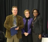 Pastor Steve Davis award winner