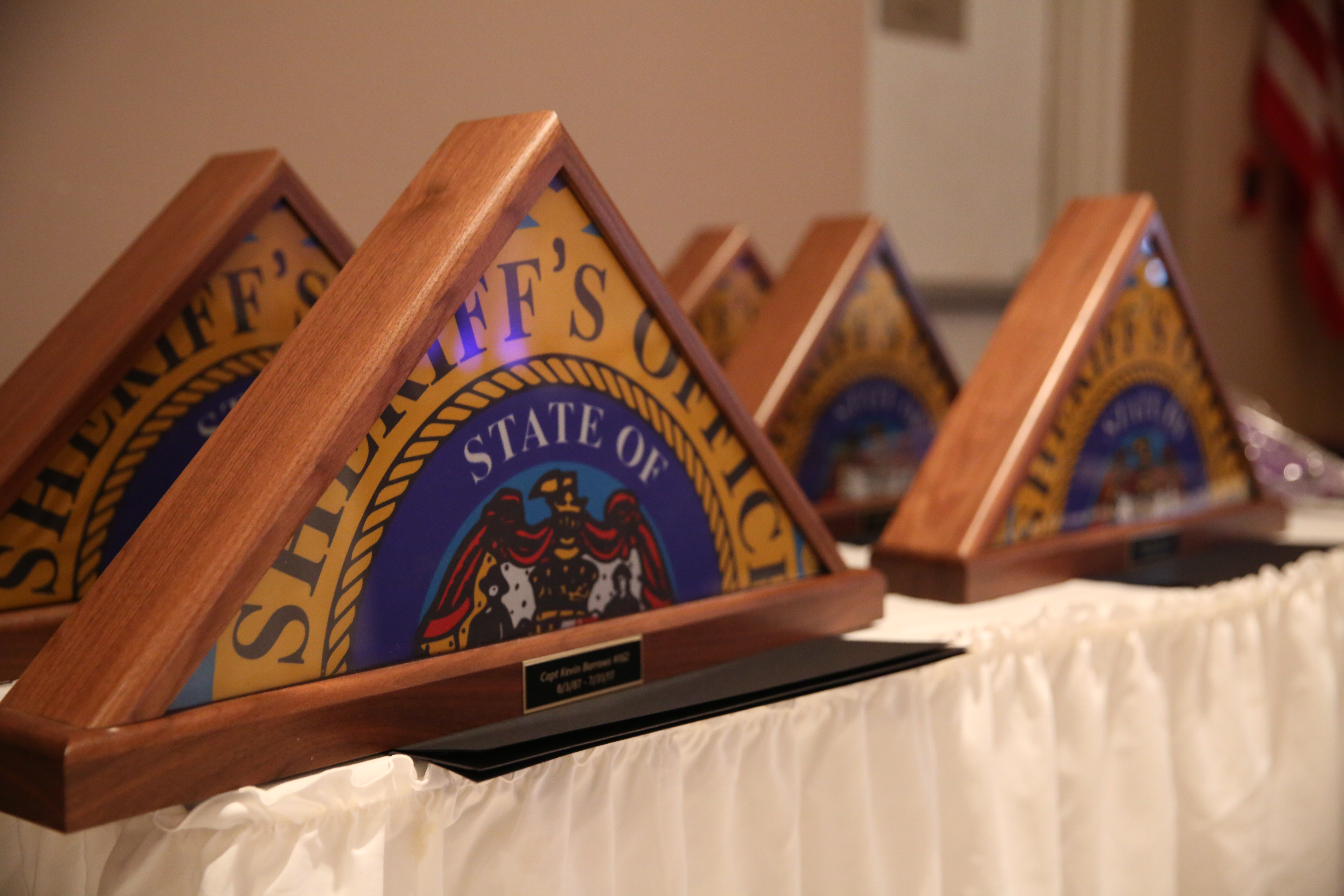 Charles County Sheriff's Office Honors Retirees and Award Recipients
