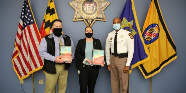 PFC Austin, Detective Gilroy, Sheriff Berry